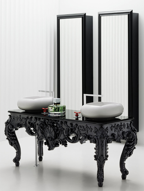 Antique Bathroom Vanity Luxury Bathroom Decoration Modern Antique Bathroom Vanities Consoles Mirrors Bisazza