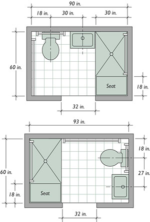 House Plans: Bathroom Floor Plan Remodel - Home Remodeling Ideas