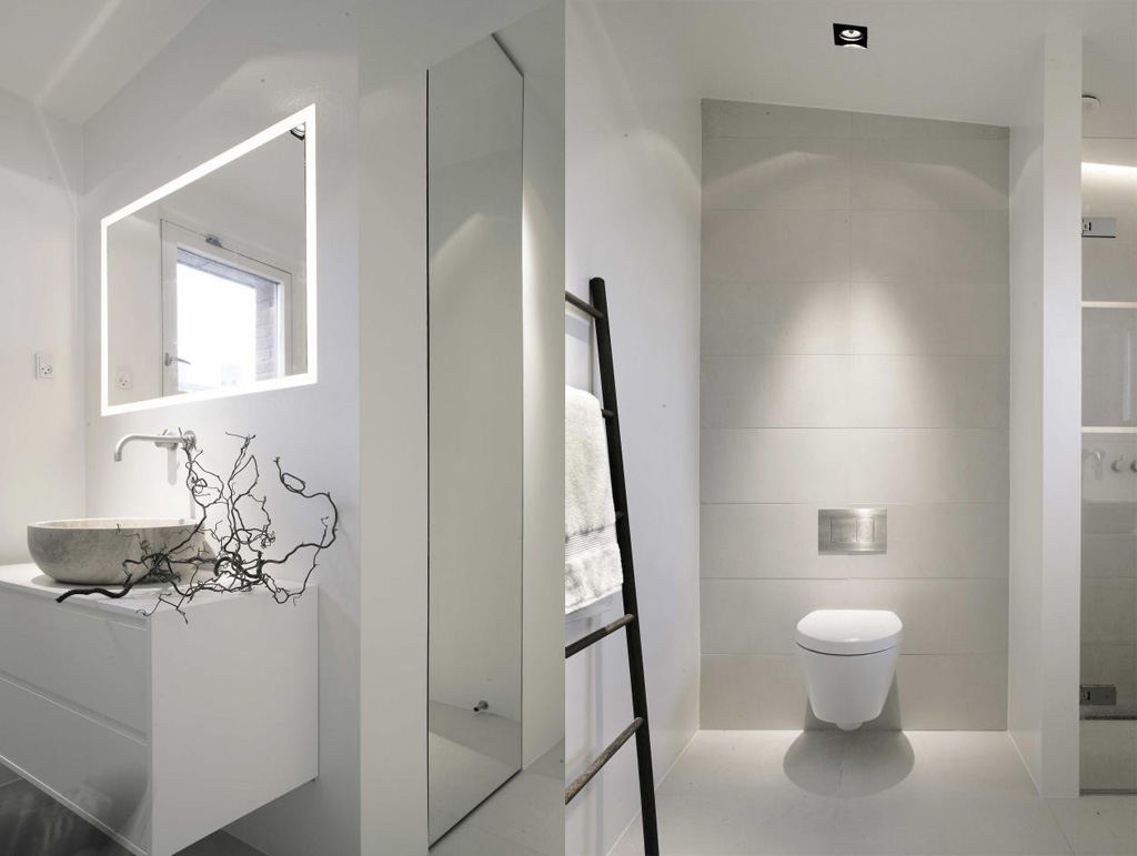 Interior Design Bathrooms Mesmerizing With White Bathroom Photo