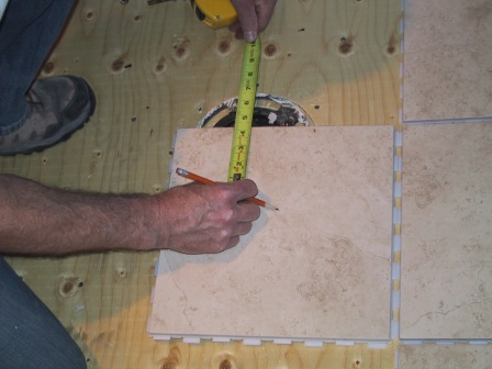 Measuring Tips for Bathroom Tiles