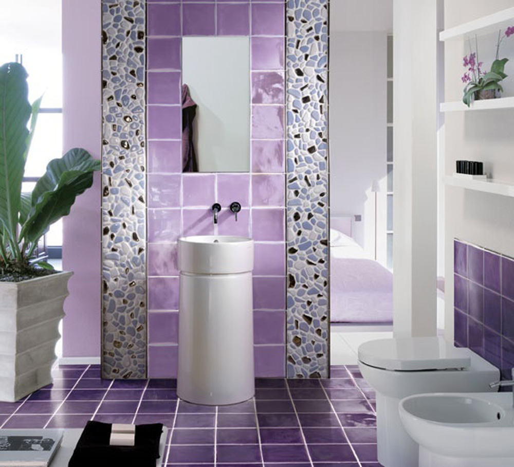 Home design interior monnie purple bathroom ideas 2015 for Bathroom ideas violet