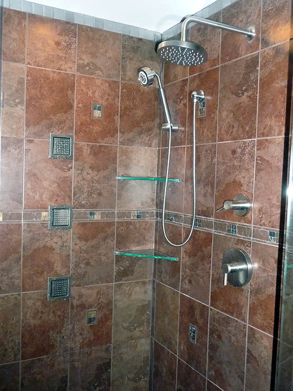 Shower Tile Installation Bathroom Design Ideas