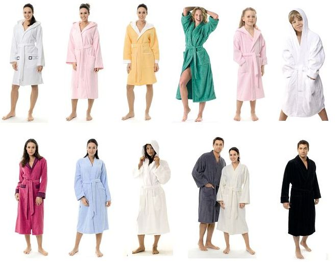 Types of Bathrobes